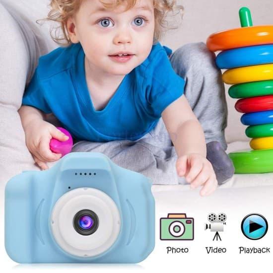 Детски дигитален фотоапарат за забавни снимки