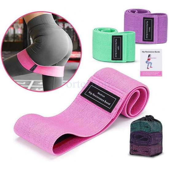 Текстилни ластици за тренировка в домашни условия
