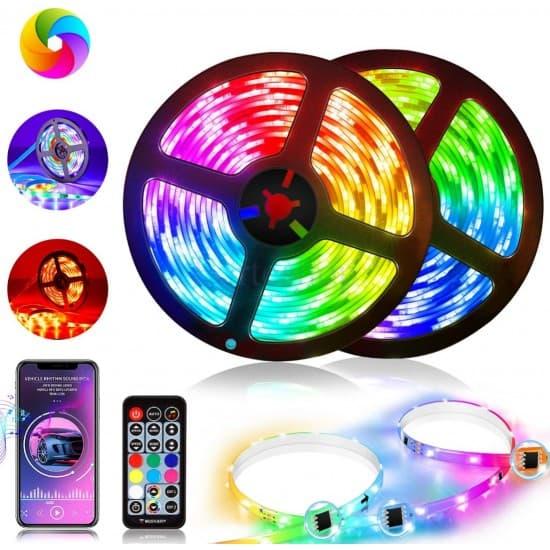 LED лента цветна RGB -  с дистанционно управление