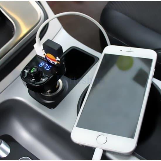 Bluetooth FM Трансмитер с Handsfree, MP3 и Charging функция