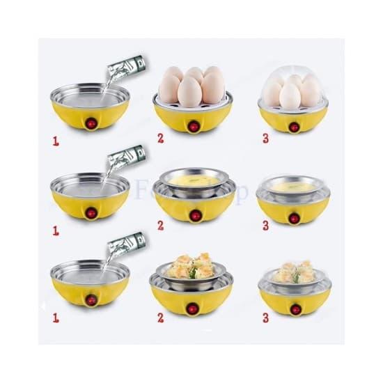 Уред за приготвяне на яйца на пара Egg Poacher